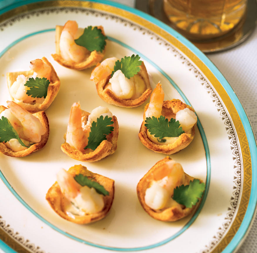 SHRIMP COCKTAIL CANAPES