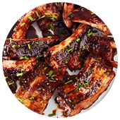 TAMARIND AND HONEY STICKY RIBS