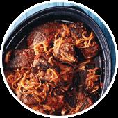 BALSAMIC-BRAISED BEEF RIBS