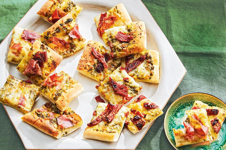 Mini italian pizza bites
