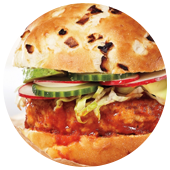 SWEET, SOUR AND SULTRY TURKEY BURGERS