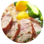 MUSTARD MAPLE PORK TENDERLOIN