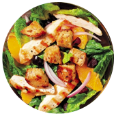 FRESH ORANGE CHICKEN SALAD