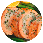 SEAFOOD SALMON ROULADE
